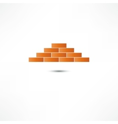 Brickwork Icon vector image