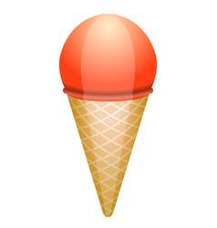 isolated ice cream vector image