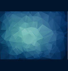 multicolor dark blue geometric rumpled triangular vector image