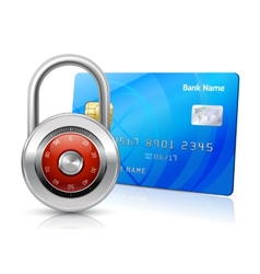 Online payments security concept vector
