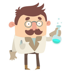 scientist vector image