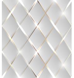 Seamless metallic grid vector