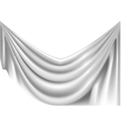 crumpled fabric vector image