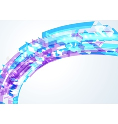 Abstract bright geometrical wave vector