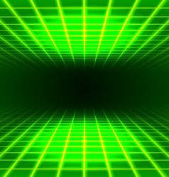 Dimensional grid space vector image