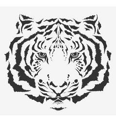 tiger tiger vector image vector image