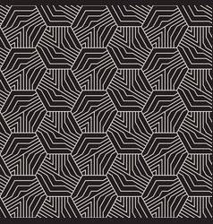 Abstract geometric pattern with stripes seamless vector