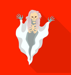 Design ghost and spook symbol set of vector