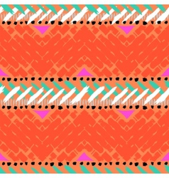 Grunge hand painted seamless pattern vector image
