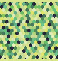 Hexagon pattern background vector