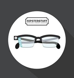 Hipster stuff design vector
