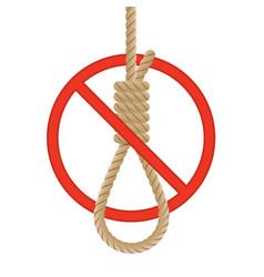 no suicide vector image