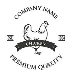 Set of agriculture label design elements vector
