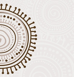 Tribal ornament background vector