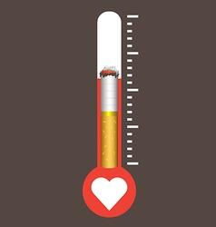 World No Tobacco Day concept vector image