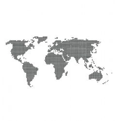 world texture vector image