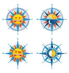 Compass cute vector
