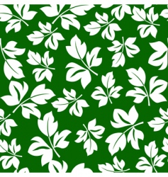 floral seamless pattern for y vector image