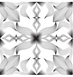 abstract floral arabesque seamless pattern arabic vector image