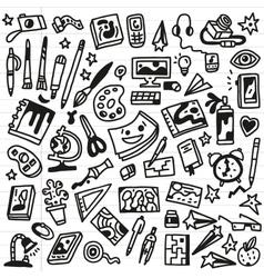 Art Doodles vector