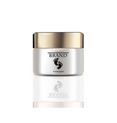 baby cream realistic cosmetics product vector image