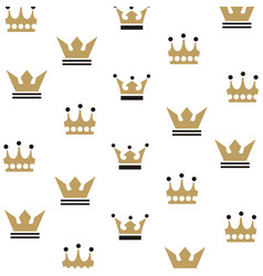 Crown king logo vector