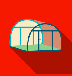 Greenhouse icon of for web and vector