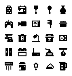Home Appliances Icons 7 vector