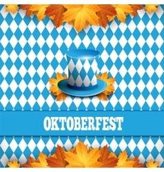 Oktoberfest German beer festival Celebration vector
