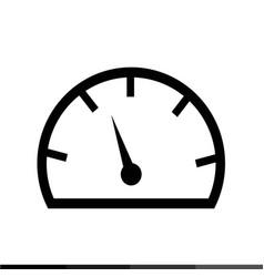 Speedometer and tachometer icon design vector