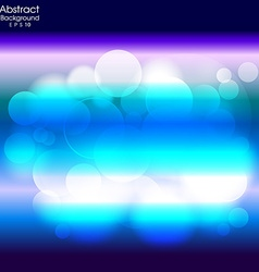 Abstract blue and light background vector image