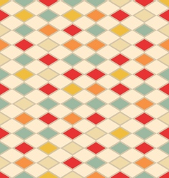 Abstract vintage background with triangles vector image