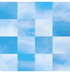 Beautiful cloudscape vector