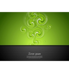 Bright modern swirl background vector