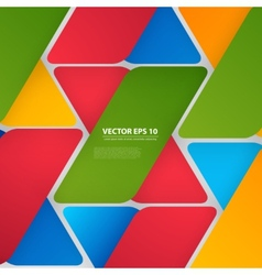 design with triangles on the grey vector image