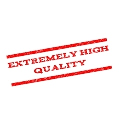 Extremely high quality watermark stamp vector