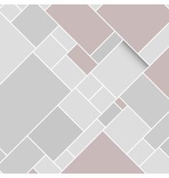 Grey Rectangular Structured Background vector image