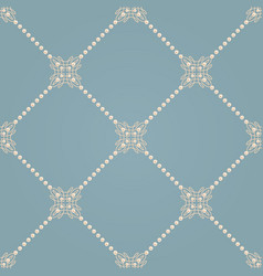 seamless pattern with ellegant knot sign and vector image