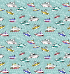 Abstract sea background summer maritime theme vector image vector image
