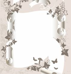 decorative banner vector image vector image