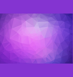 abstract purple polygonal mosaic background vector image