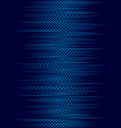 background with blue horizontal wavy lines vector image