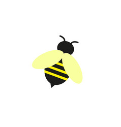 bee of the online icon of honeybee vector image