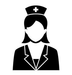 Nurse sign symbol icon vector