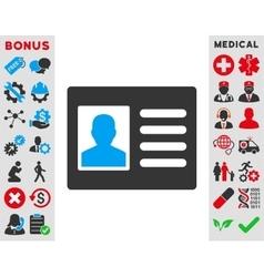 Patient Account Icon vector