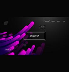 purple gradient geometric background flat layout vector image