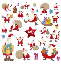 big christmas collection vector image vector image