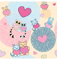 Lovely background vector image vector image