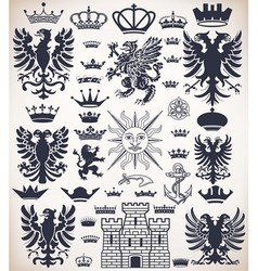 0000 heraldicset vector image