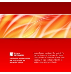 Abstract smooth horizontal background vector image